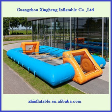 best price inflatable football pitch/mini inflatable soccer field for sale