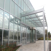 Aluminum glass house with various choice and good performance