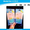Transparent water phone case for iphone 6 rubber duck case
