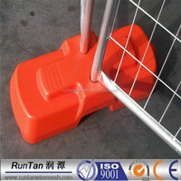 High Quality temporary fence/removable fence/plastic temporary fence feet( 20 Years Professional Experience)
