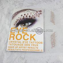 Bling Eye crystal sticker