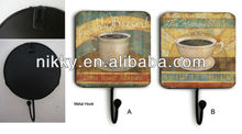 Coffee picture hat rack hooks