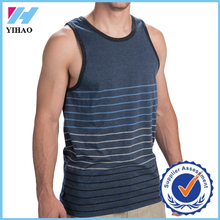 2015 burnout high quality mens tank top stringer jersey striped breathable gym tank top