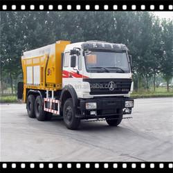 6*4 Beiben truck asphalt slurry seal paver