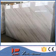 Chinese Guangxi White Marble Bianco Carrara Marble Slab