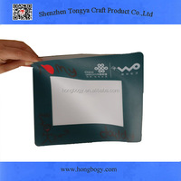 High quality EVA photo insert mouse pad/photo frame mouse pad