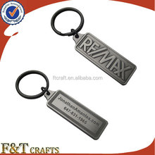 create custom 3D vintage metal name keychain with your own design