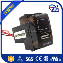 Cargador de coche 12 v cargador de batería de coche circuito cargador del teléfono del coche placa de circuito