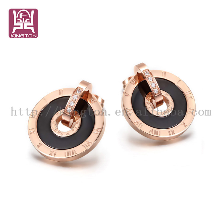 design fashion black jhumka earrings hong kong