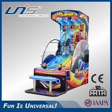 Unis up& via gettoni premio macchina da gioco con aria di ripresa