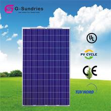 Fine workmanship best quality polycrystalline 250w 120v solar panel