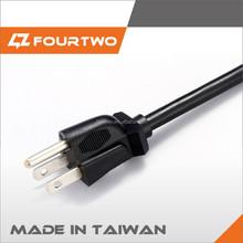 UL approved 3-phase power plug nema 6-30p power cord usa 30a 250v power plug