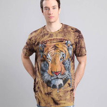 The lastest preshrunk and plus size animal print 3d t shirts or remove print t shirt and all over print t-shirt accept OEM