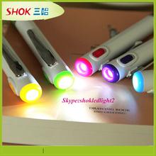 Matel LED Advertising projection mini pen