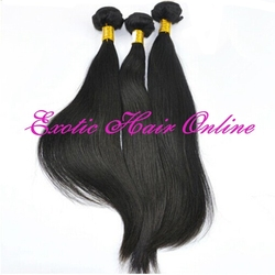 Exotichair raw hair weft sealer for hair extensions