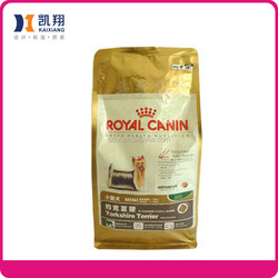 Plastic Pet Food Packaging bag pouches plastic packaging bags