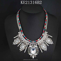 Necklace sex toy and necklace knife manufacturer in yiwu,lariat chain design bar necklace celebrity for couples A4053