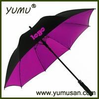 "30"" Fiberglass Double Layer Golf Umbrella Auto Open"