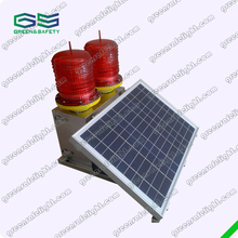 GS-MS/D Medium-intensity Double Solar-Powered Beacon Light