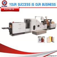 2015 China hot sale Full Automatic Full-Automatic Flat/Bottom Type Paper Bag Making Machine