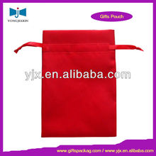 2013 new style satin gift pouch with ribbon