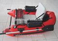 2015 ce y certificación de pvc ligero casco de plástico divertido barco