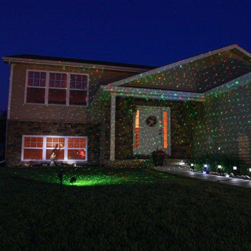 Tanche jardin clairage laser ext rieur lumi res laser for Eclairage noel exterieur projecteur
