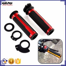BJ-HB-037B Universal 22mm Rubber Aluminum Handlebar Hand Grip Motorcycle Handle Grips