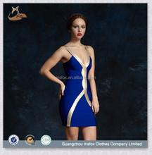 2015 de la alta calidad del sexo vestido del vendaje caliente estilo miami