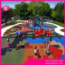 gym room eco-friendly noise reduction rubber mat flooring for park
