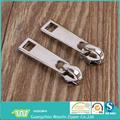 Glänzend splitter metall-reißverschluss schieber für kleidung, reißverschlussschieber für bekleidung, metall schieber für kleidzusatz