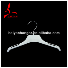 Giveway hanger, whole plastic simple design with chrome hook -HY1016