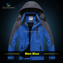 high quality snowboard jacket men and plus size jacket waterproof windproof