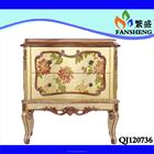 American PASTORAL mobiliário antigo flor videira uso específico francês DOUBLE-SIDE gabinete