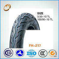 high quality motorcycle tubeless tyre 100/90-10