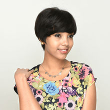 Fashion Trendy Popular Summer Style Short Afro Wigs For Black Women With Adjustable Straps
