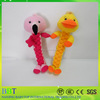 Wholesale soft squeaky pet toy cotton rope pet toy for dog to chew