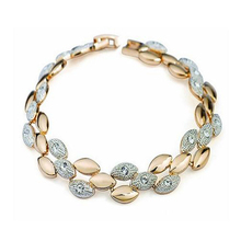 YG S549-1 Multicolour Exquisite ball 18K Gold Plated Stainless Steel Bracelet