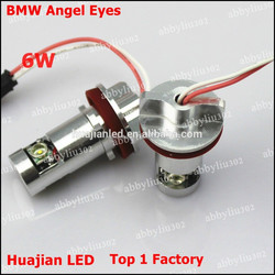 CE RoHS approved angel eye cre led marker for BMW E92 6W 12V