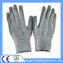 Durable and Washable high modulus Anti-scratch knife gloves level 5 working gloves