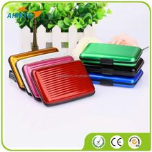 Waterproof Business Credit Card Wallet Holder Aluminum Metal Case Box