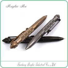 2015 newest aerial aluminium security equipment pen for writing and survival