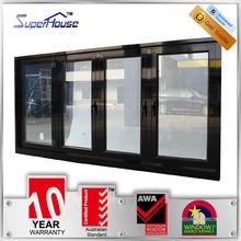 Superhouse 2015 Popular AS2047 standard alumunium folding window for residential house