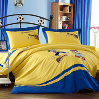 Children cotton bedding set with masha and bear, the us beddig sets, matching beddibng and curtains