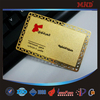 MDM7 Embossed stainless steel business card/business metal card/Noble Metal business card