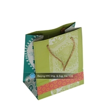 fashion handbags 2015 fancy design kraft paper bag foldable gift paper bag custom paper packaging