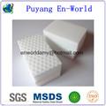 Blanca aparato de cocina esponja mágica esponja melamina