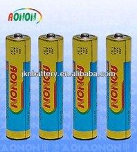 best price LR06 1.5V 800mah UM4 AAA batteries alkaline battery