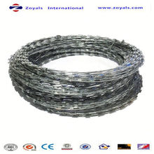 High Security welded razor wire packing terms (manufacturer)