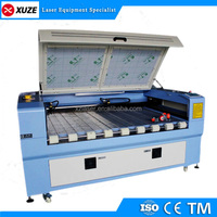 fabric cutting laser machine with rotating table
